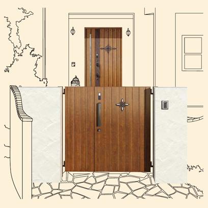 玄関ドア06